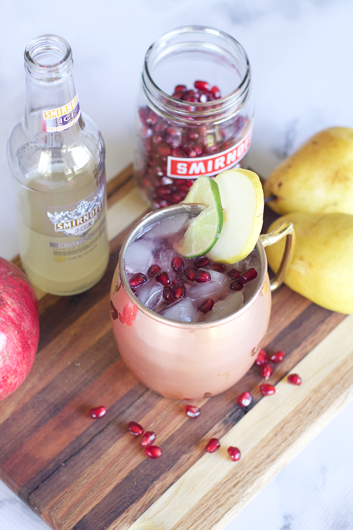 Pomegrante-Pear-Moscow-Mule