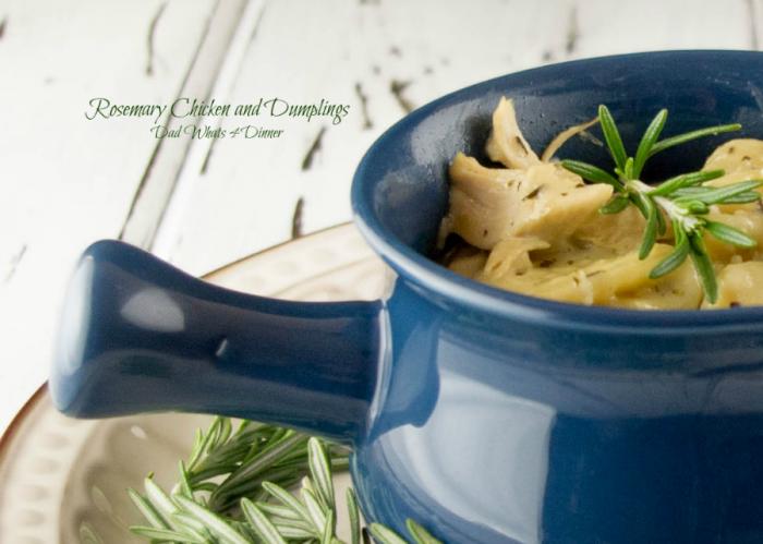 Rosemary Chicken & Dumplings