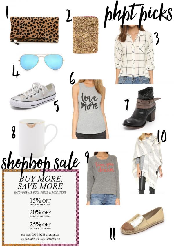 ShopBop Buy More Save More Sale! GOBIG15