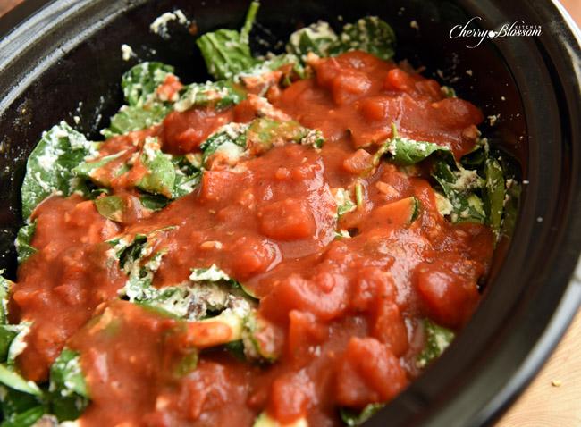 Cherry Blossom Kitchen Veggie Lasagna Prep4