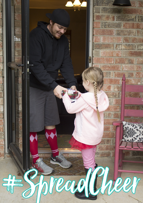 #SpreadCheer – 2015 Random Act of Kindness Mission