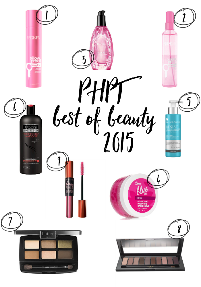 My top beauty picks of 2015. Come see what made my Best of Beauty list!