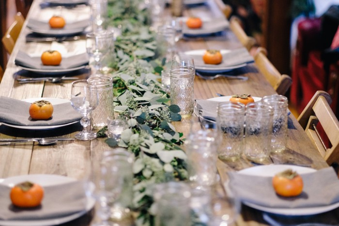 Weekend Inspired: Plan a Winter Dinner Party