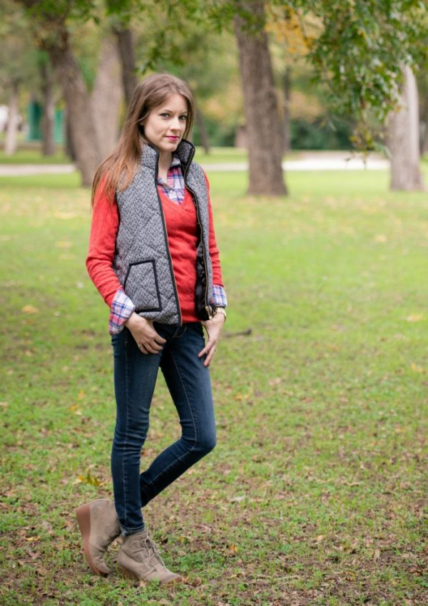 Styling a Vest with Layers
