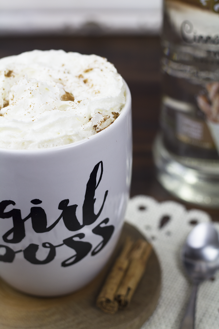 Boozy Snickerdoodle Chai Tea Latte 4