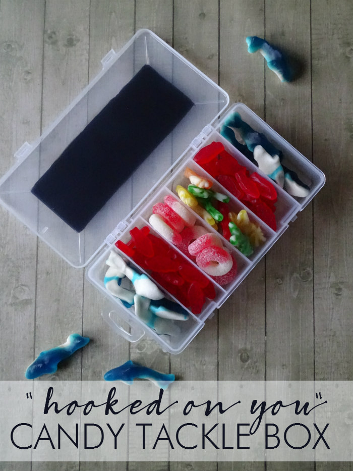 Create and Crave Most Viewed: Hooked On You Candy Tackle Box from Living La Vida Holoka