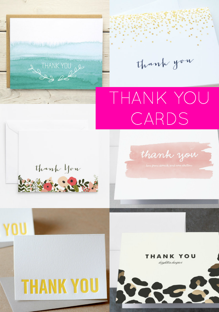 Thank You Cards You'll Love