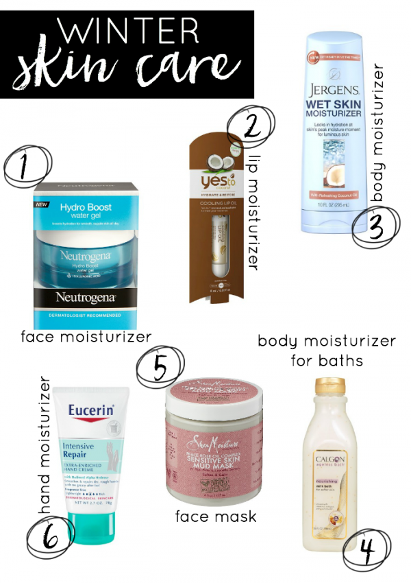 Winter Skin-Care Tips #conciergebeauty