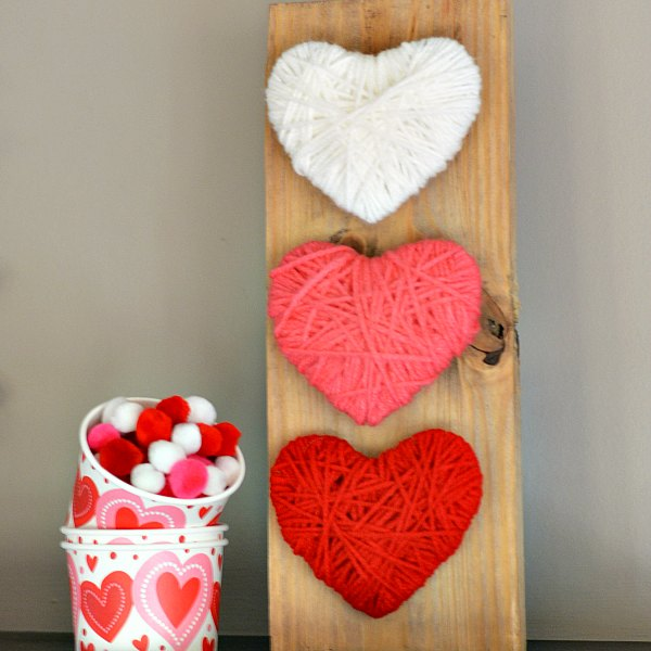 Yarn-Wrapped-Heart-Craft