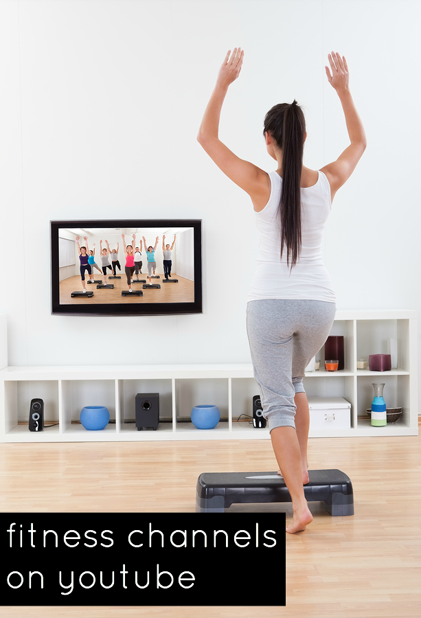 Do you like working out at home? Check out these various fitness channels on youtube for your next at home workout!