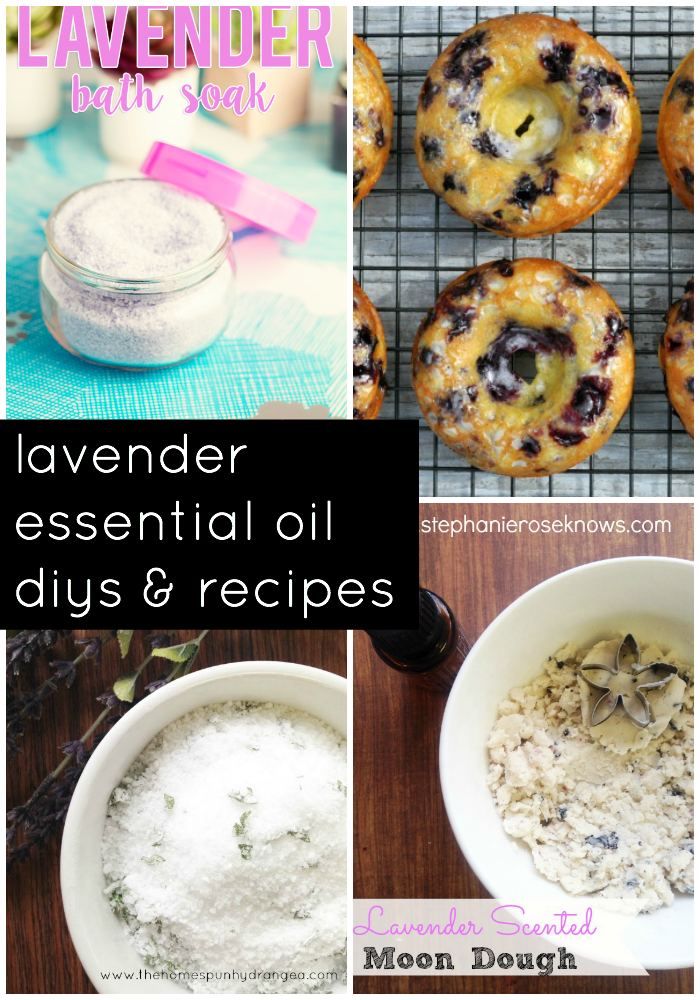 lavender essential oil diys and recipes
