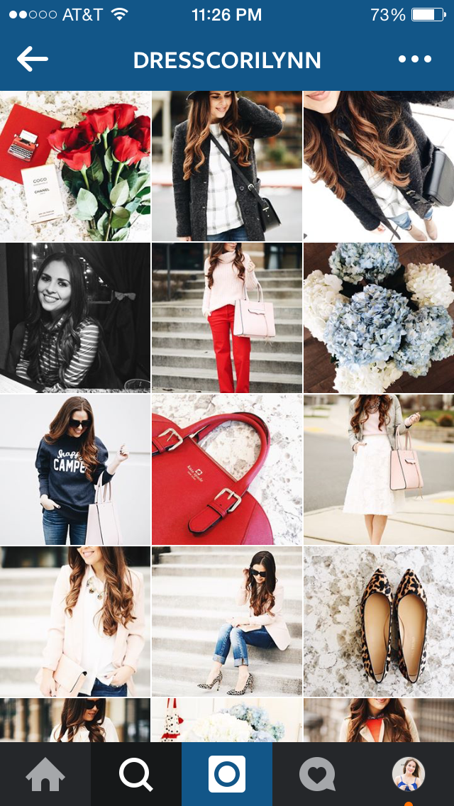 10 Instagram Accounts For Fashion Inspiration Taylor Bradford