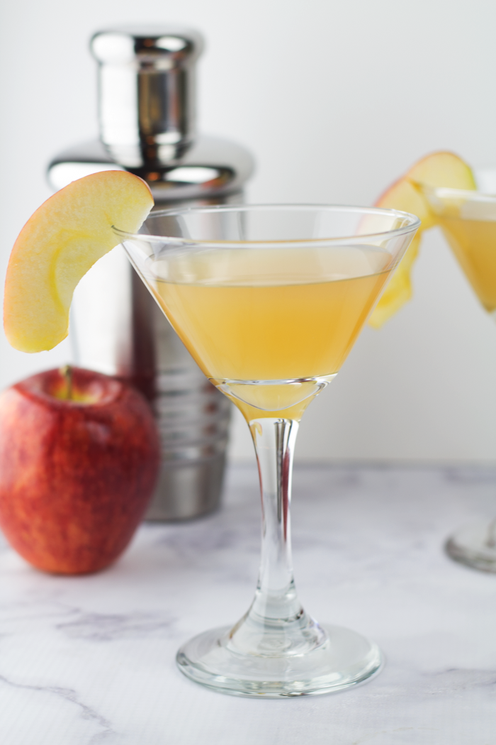 Caramel Apple Cider Martini 5