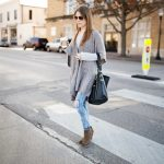 Styling an Oversized Draped Cardigan