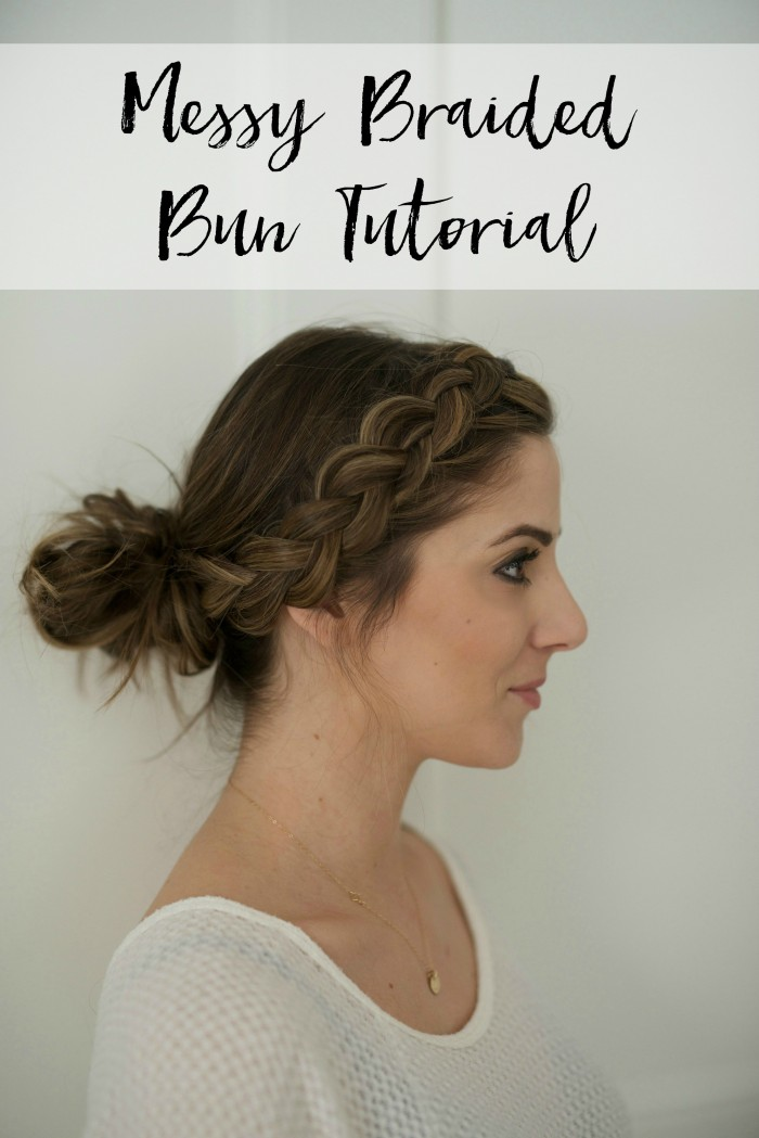 Messy-Braided-Bun-Tutorial