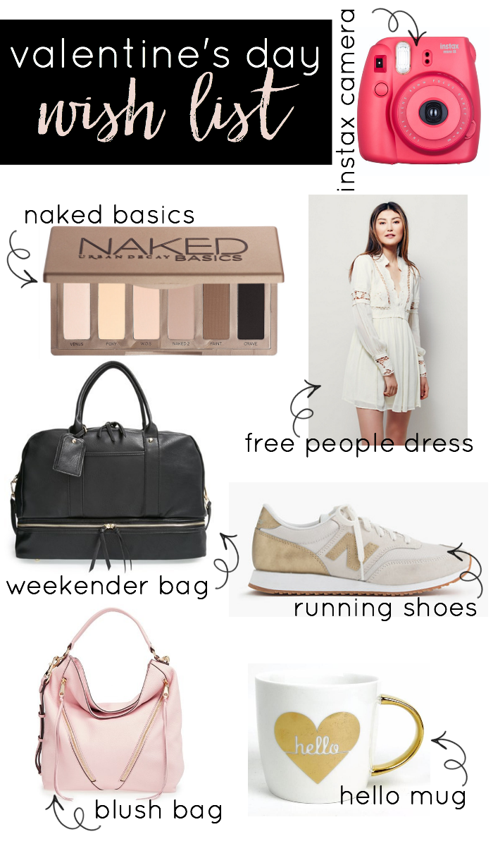 Check out the items that made it into my Valentine's Day Wish List! I've got an eclectic mix of shoes, bags, clothes and more!