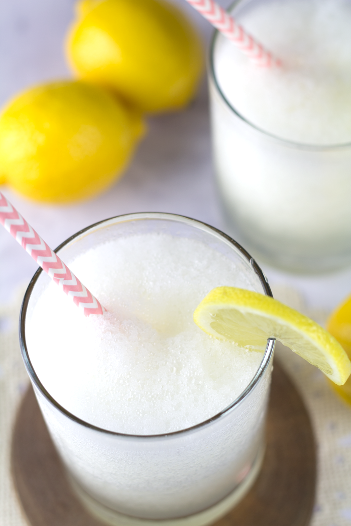 Boozy Cherry Lemonade Slushy 3