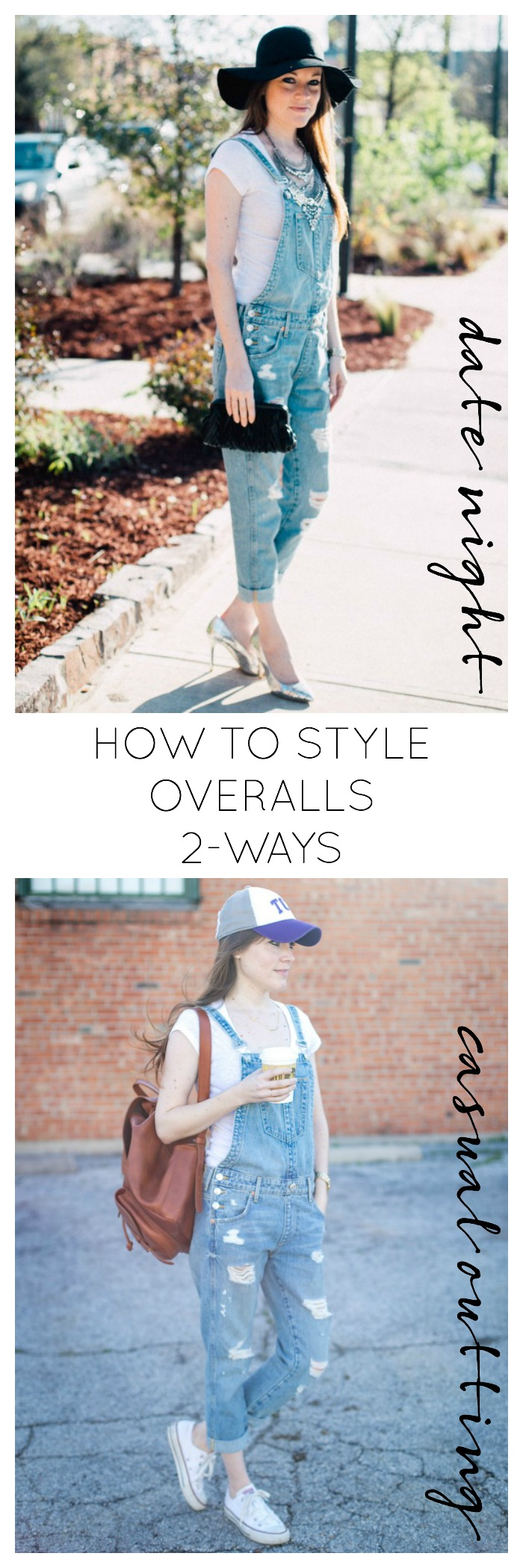 How-To Style Overalls 2 Ways