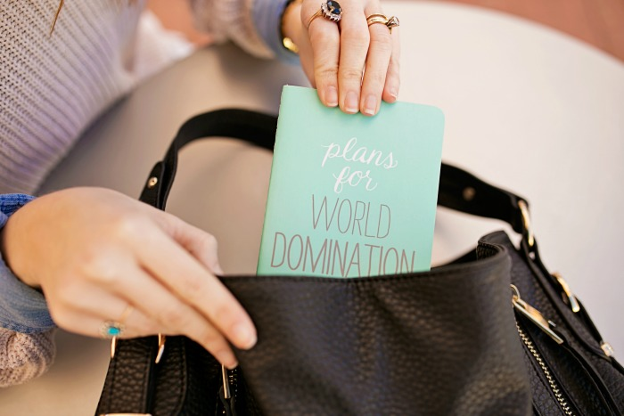 World Domination Notepad
