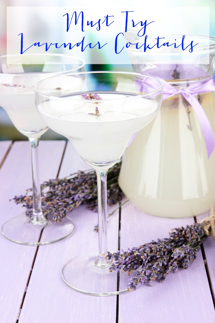 Must Try Lavender Cocktails