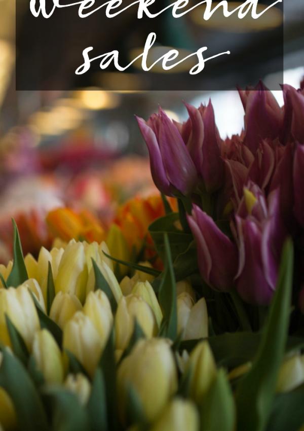 Weekend Sale Alert – March 11