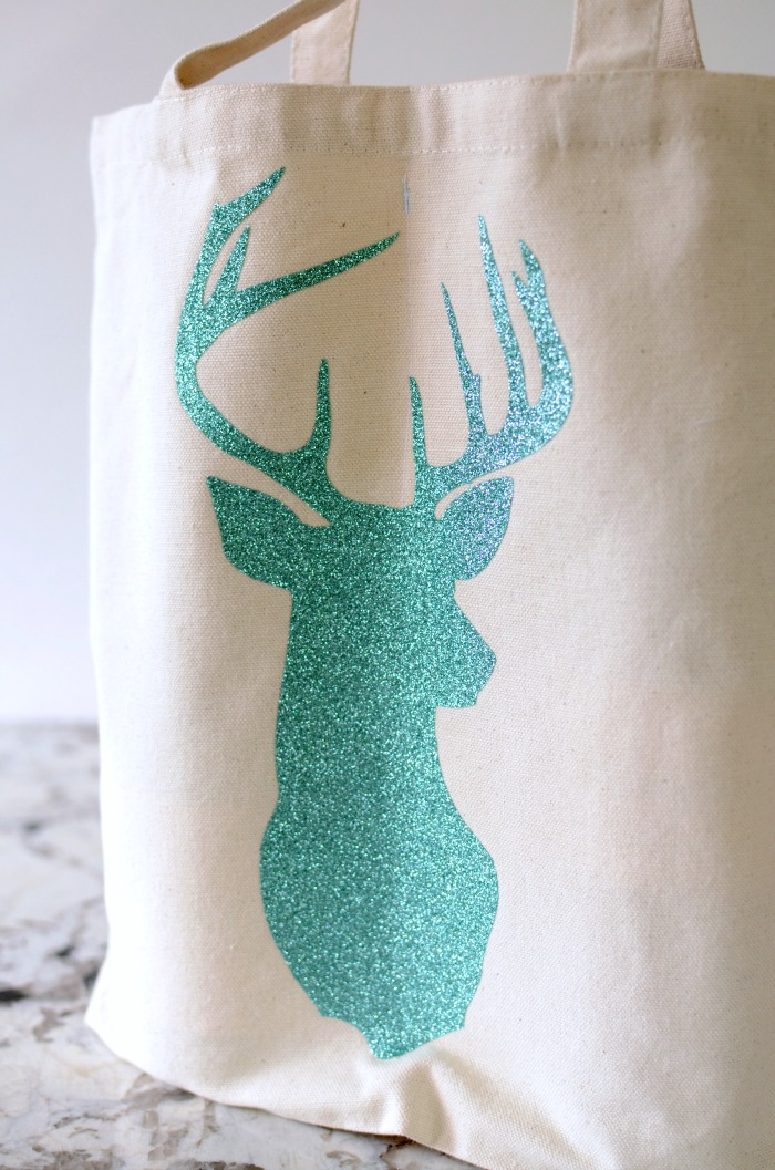 glittered-stag-on-dual-wine-tote