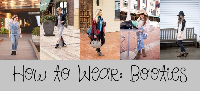 how to wear booties - 5 ways