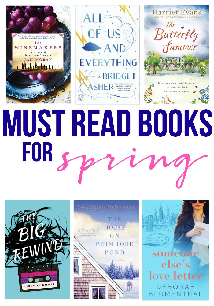Must Read Books for Spring