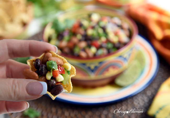 Texas Caviar6 CherryBlossomKitchen.com
