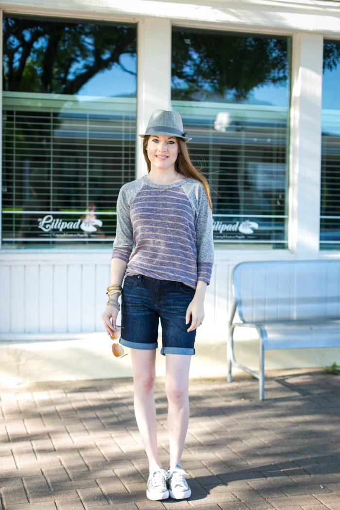 How To Style a Raglan Top