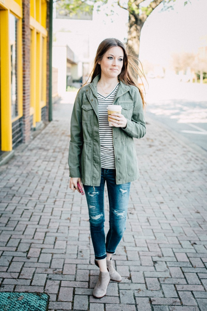 How to Style a Utility Jacket u2022 Taylor Bradford
