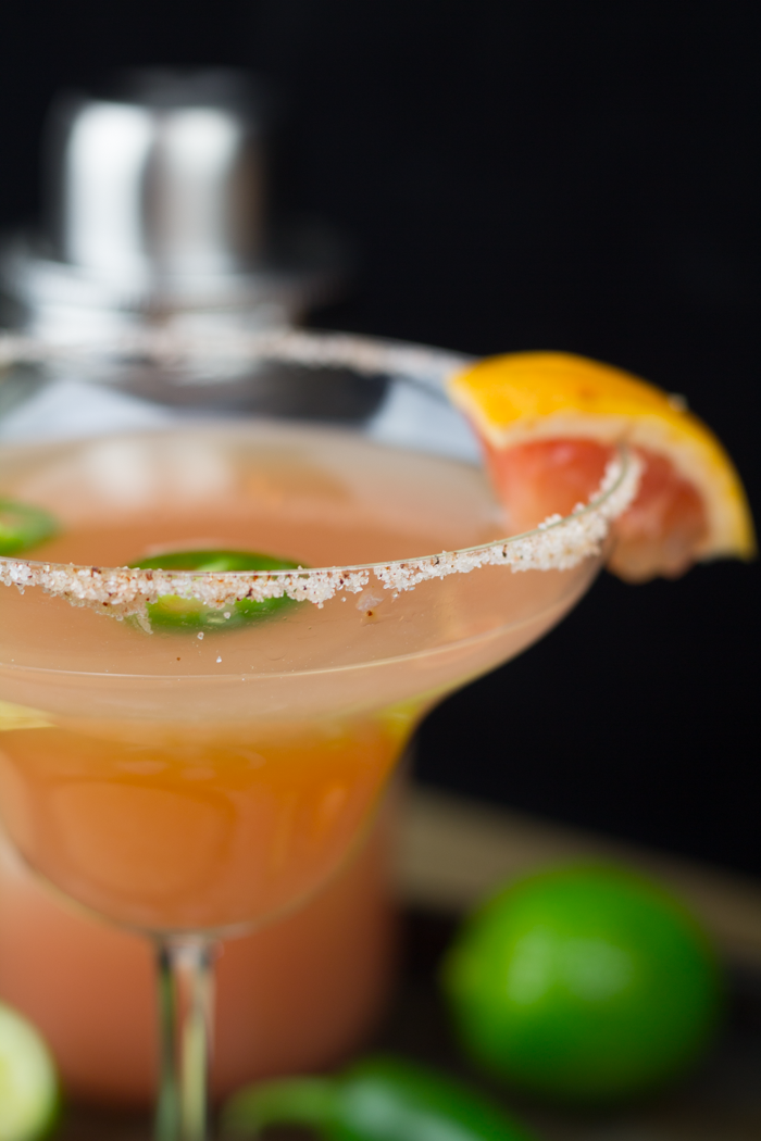 spicy grapefruit margarita 1
