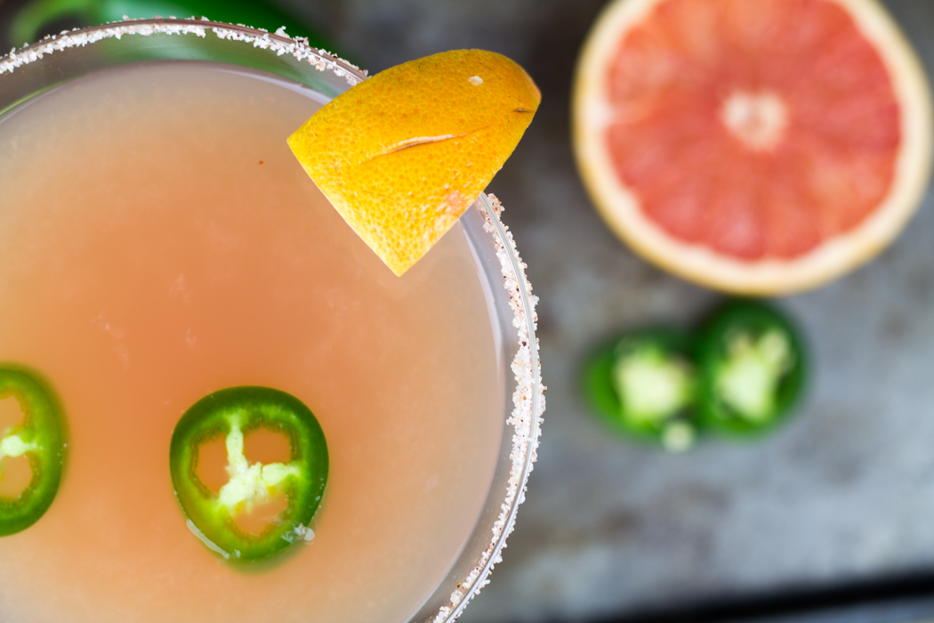 spicy grapefruit margarita 2