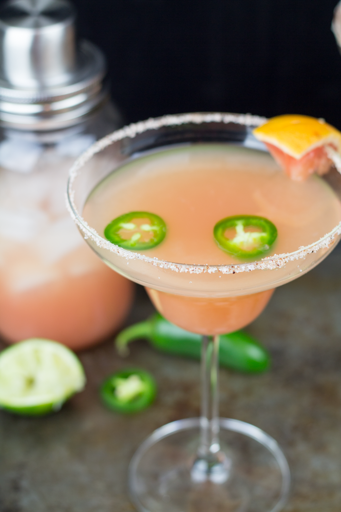 spicy grapefruit margarita 6