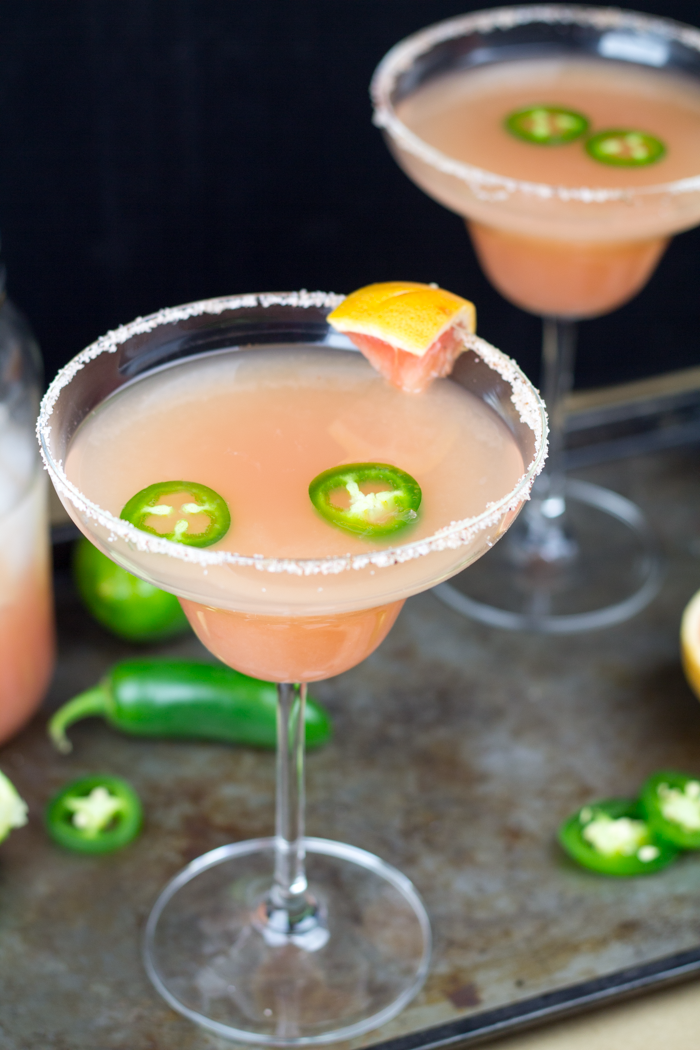 spicy grapefruit margarita 7