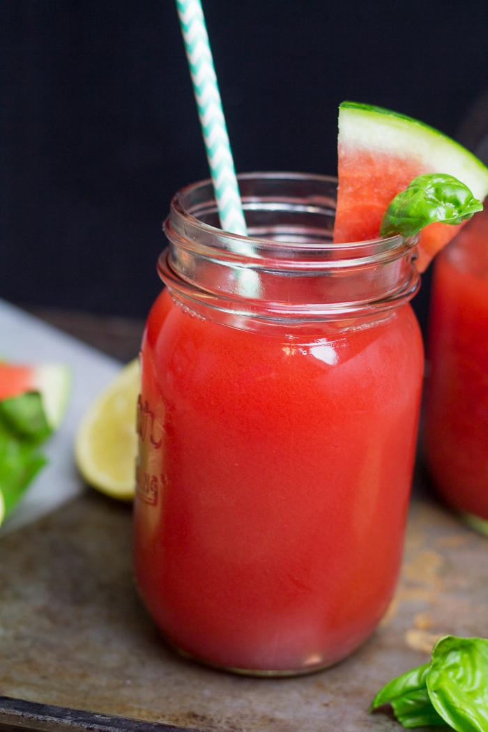 Watermelon Basil Moonshine Recipe