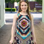 HOW TO STYLE AN AZTEC SHIFT DRESS