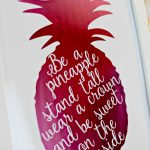 Free Printable Pineapple Print