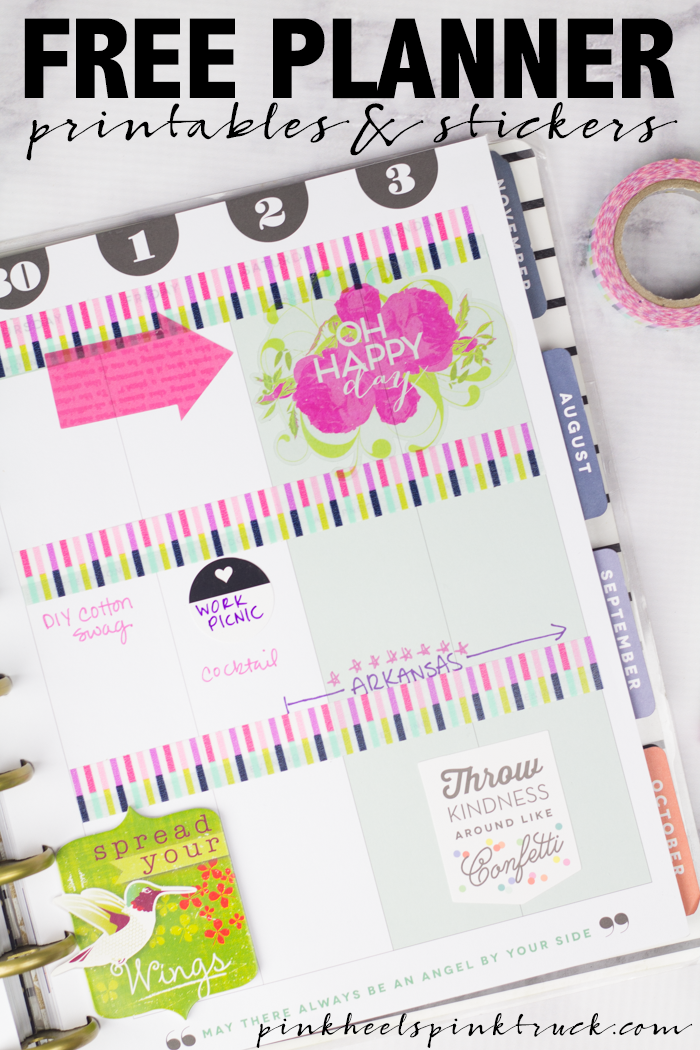 Free Planner Printables and Stickers