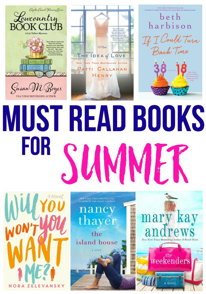 30 Must Read Books for Summer by Pink Heels Pink Truck