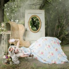 An Alice Through the Looking Glass Inspired Photoshoot
