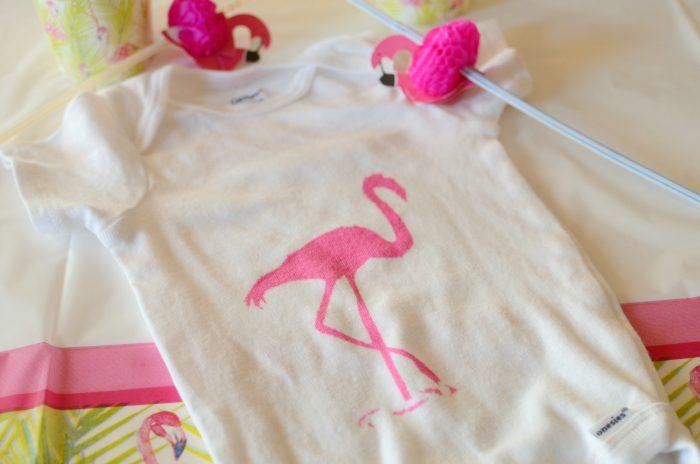 diy-easy-painted-flamingo-onesie
