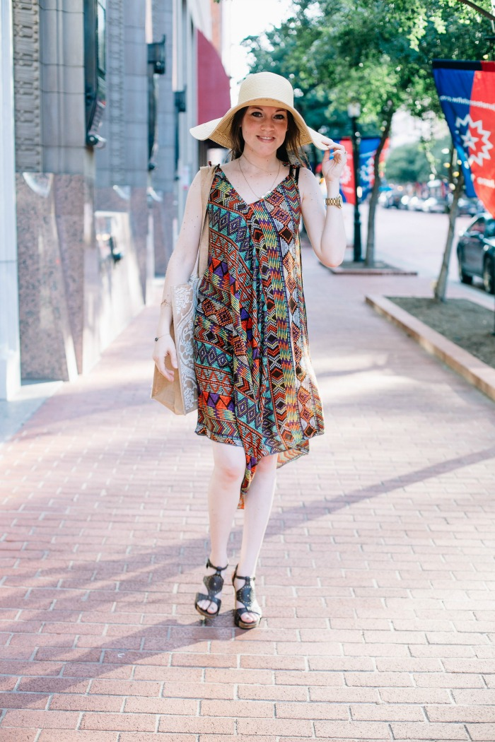 How to style an asymmetrical dress