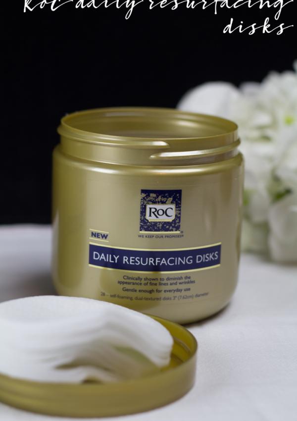 Beauty: RoC Daily Resurfacing Disks