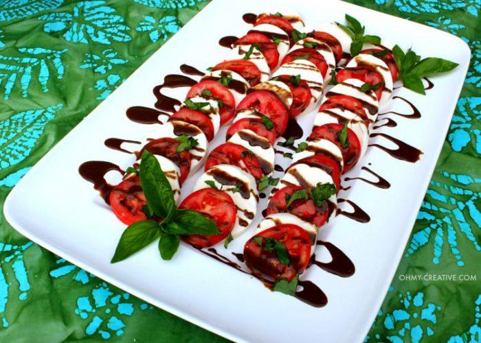 Caprese-Salad-with-Honey-Balsamic-Dressing