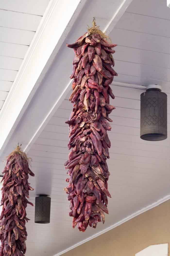 Hot Chiles in Santa Fe