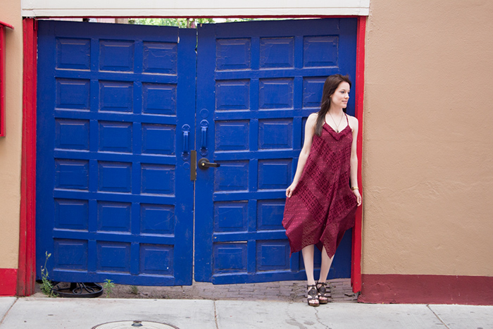 What to Wear in Santa Fe, NM - Patterned Dress from Target