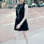 The Most Chic Black Romper EVER #targetstyle + Places to Eat in Downtown FTW