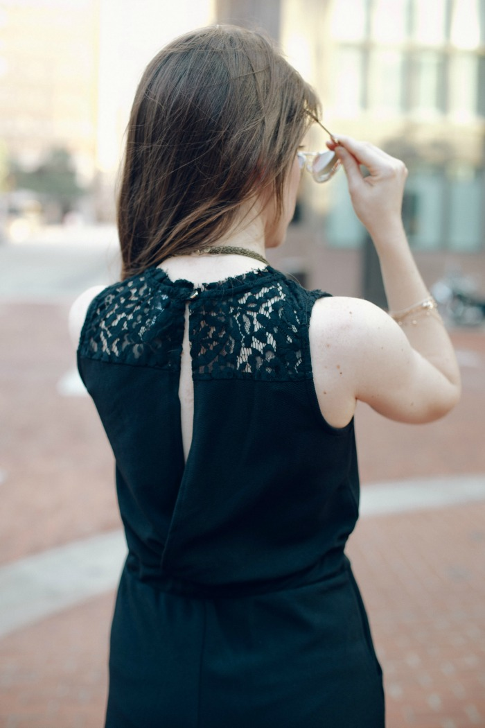 25f0f4830957 The Most Chic Black Romper EVER  targetstyle + Places to Eat in ...