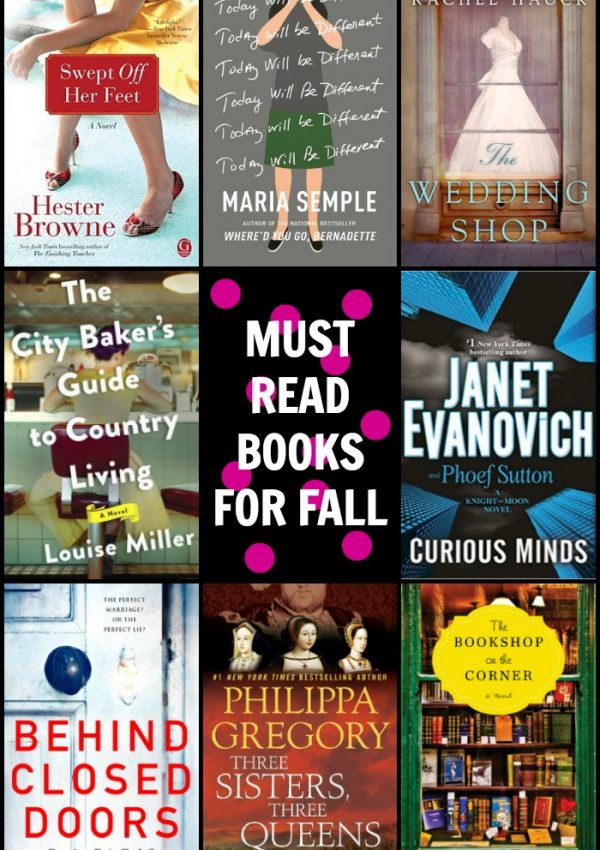 Don't Miss These Must Read Books for Fall